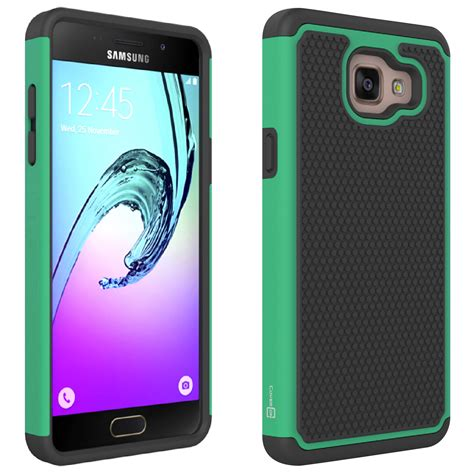 telephone samsung a5 coveron 174 for samsung galaxy a5 2016 a510 hexaguard hybrid phone cover ebay