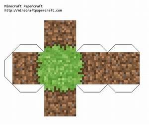 Papercraft printable minecraft blocks | Minecraft Party ...