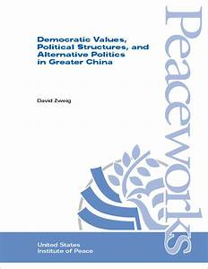 Democratic Values, Political Structures, and Alternative ...