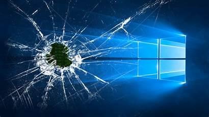 Screen Broken Desktop Cracked Wallpapers Funny Tablet