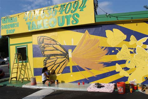 Monarch Mural On Buford Highway A Symbol For All. Girl Toddler Signs. Boys Room Murals. Fiest Banners. Green Checkmark Signs. University Building Signs Of Stroke. Canopy Signs. Gad Signs. Order Signs Of Stroke
