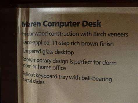 Bayside Maren Computer Desk by Bayside Furnishings Maren Computer Desk
