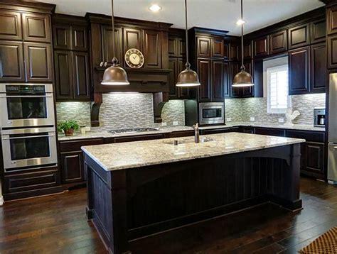 painting dark wood kitchen cabinets white dark wood