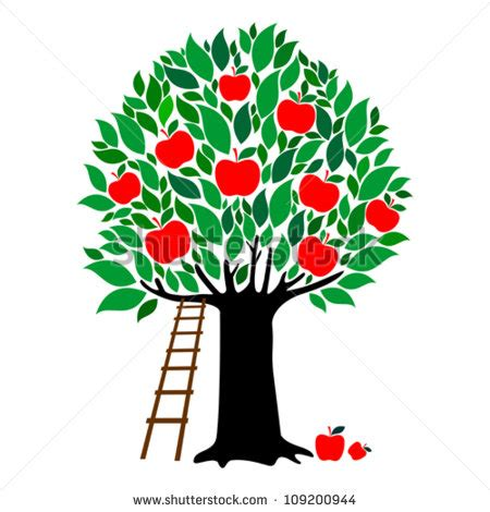 apple tree with roots drawing apple tree stock images royalty free images vectors