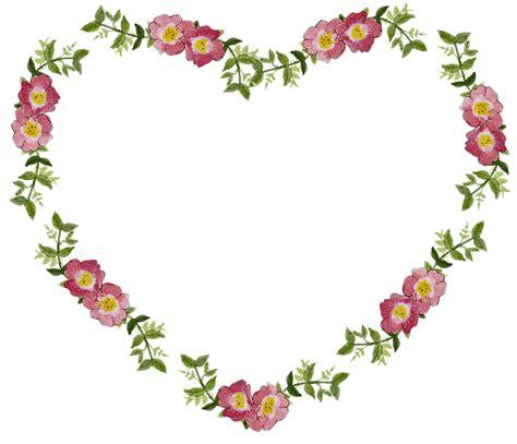 bunga bingkai jantung gambar gratis  pixabay