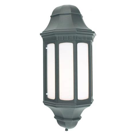 norlys lighting m8 malaga flush wall lantern norlys