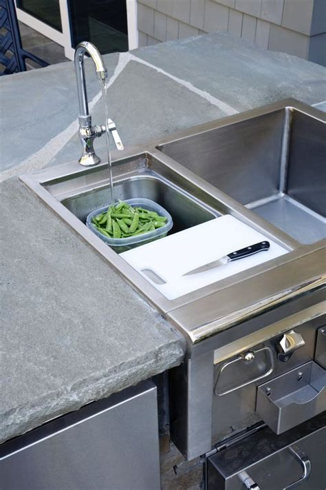 sink for outdoor kitchen designing the ultimate outdoor kitchen 5279