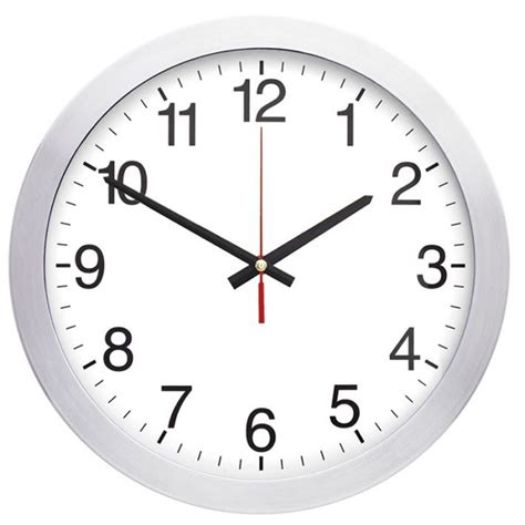 klok secondewijzer grote aluminium klok een stijlvol relatiegeschenk