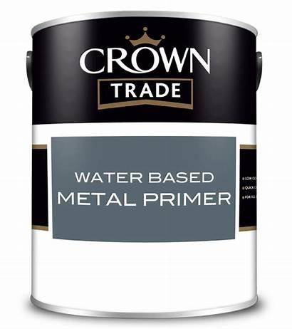 Crown Water Metal Based Primer Paint Floor