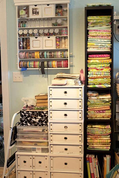 ikea scrapbook room  storage  decorelated