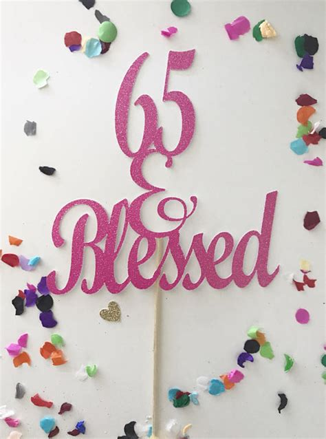 glitter  blessed cake topper  topper  birthday