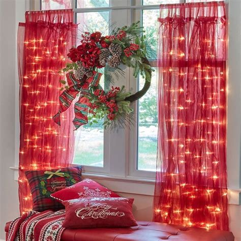 christmas decorating window treatments wwwindiepediaorg