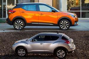 Nissan Juke Rouge : refreshing or revolting nissan kicks vs nissan juke motor trend ~ Melissatoandfro.com Idées de Décoration