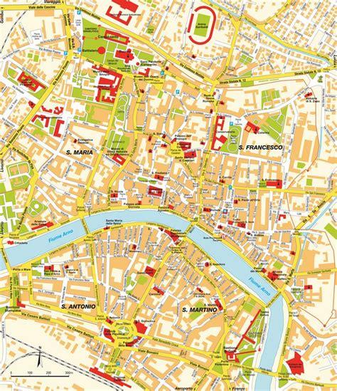 Carte Italie Ville Pise by Plan Pise Toscane Italie Cartes Plans Et Itin 233 Raires