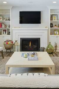Most, Current, Free, Of, Charge, Brick, Fireplace, With, Tv, Above, Ideas, 33, Stunning, Modern, Fireplace, D