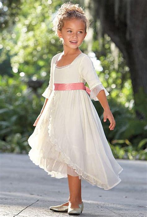team wedding blog valentines day inspired flower girl dresses