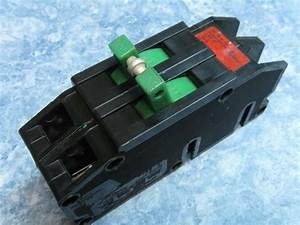 100 Amp Zinsco Double Pole Main Breaker Type Q - No Lugs