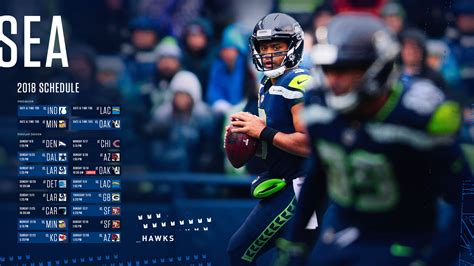 seattle seahawk schedule announced  kdux
