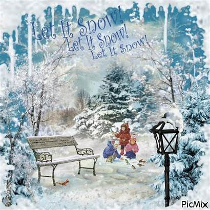 Winter Season Gifs Quotes Wonderful Snow Let