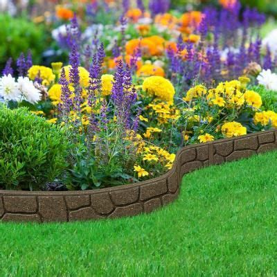 multy home ez border stones  ft earth rubber garden