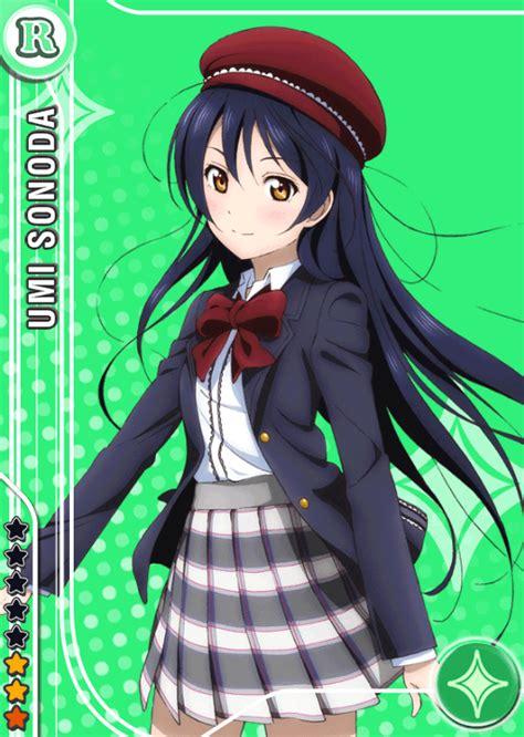 school idol tomodachi cards album  sonoda umi