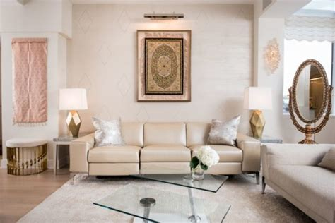 Neutral Wall Colors For Living Room : Neutral Colors In An Indian Modern Home By Elle Decor