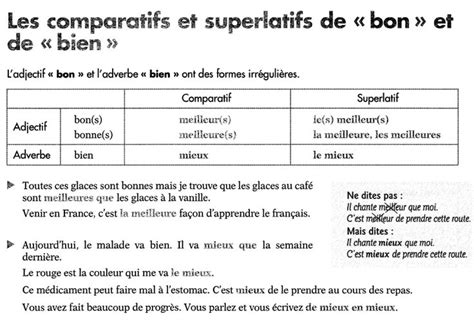 17 best images about french comparatif on pinterest