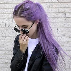 light lilac purple hair   Tumblr