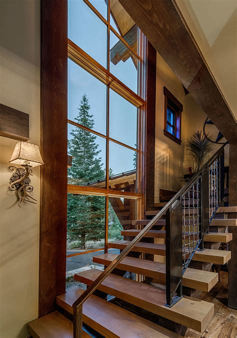 stunning cabin retreat brings rustic texan charm  lake tahoe