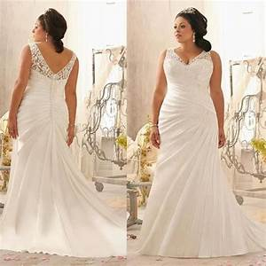 plus size wedding dresses 2016 mermaid style white satin With chubby wedding dress