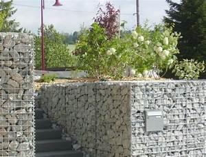 les 25 meilleures idees de la categorie mur en gabion sur With amenagement exterieur terrain en pente 2 mur gabion dans le jardin moderne un joli element fonctionnel