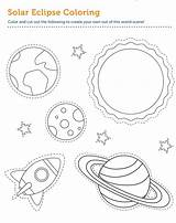 Coloring Printable Eclipse Educative Universe Themes Nebula Galaxy Educativeprintable Andromeda sketch template