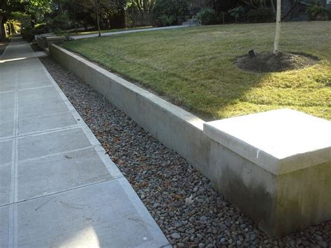 poured concrete retaining wall poured in place concrete seating wall details pictures to pin on pinterest pinsdaddy