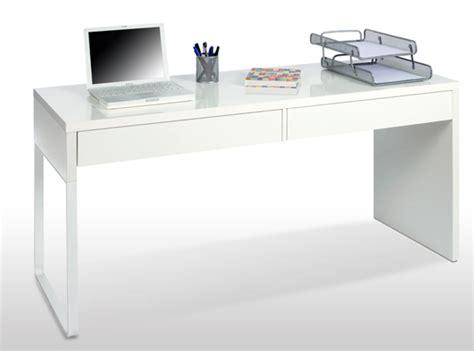 bureaux blancs bureau touch blanc brillant