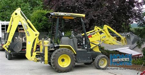 mini backhoe excavating  digging services vancouver