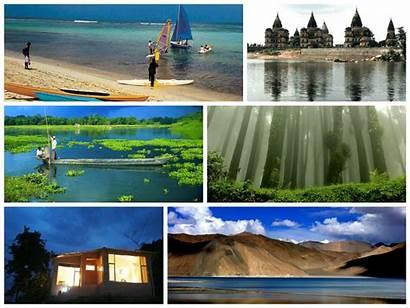 India Tourist Tourism Destinations Collage Volunteer Any