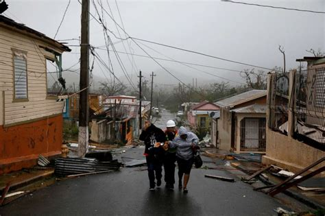 Puerto Rico In Dark, Curfew Set After Island 'destroyed
