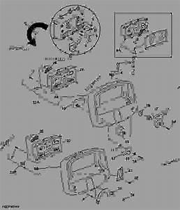 Instrument Panel - Tractor John Deere 5210 - Tractor