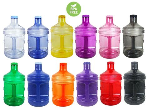 bpa   gallon plastic water bottle container drinking
