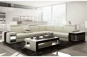 Canapé Droit Xxl : canap d 39 angle en cuir luxe italien 5 6 places xerus cuir haut de gamme italien vachette cuir ~ Teatrodelosmanantiales.com Idées de Décoration
