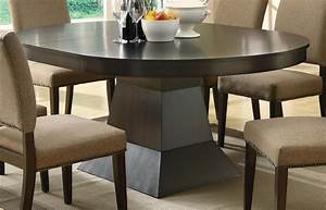 Myrtle, Cappuccino, Round, Extendable, Dining, Table, From, Coaster, 103571