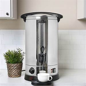 20l Tea Urn Electric Catering Hot Water Boiler Coffee