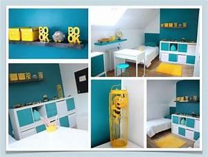 les 25 meilleures idees concernant salles de bains bleu With salle de bain jaune et bleu