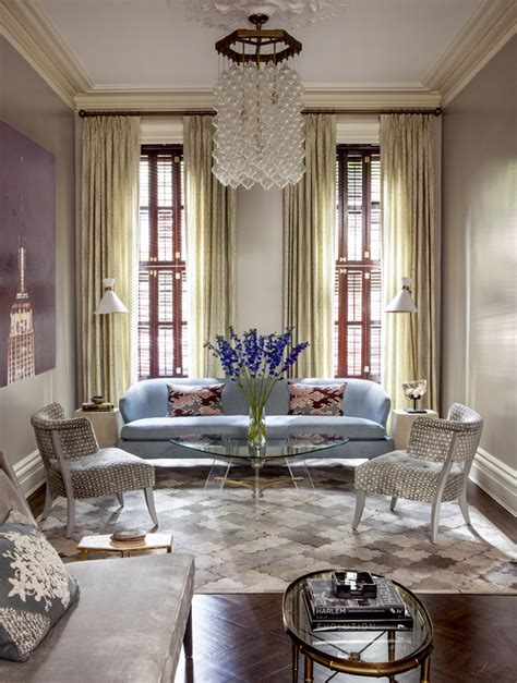 Handsome Traditional Townhome by East Side Townhouse By Blair Harris Boasts Opulant