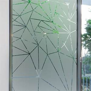 Vitre Pour Porte Intérieure : sticker occultant pour vitre et fen tre depoli design ~ Dailycaller-alerts.com Idées de Décoration