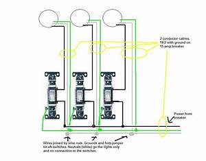 I Want To Put Three Lights Each Light Controlled By A Switch On One Line  Can This Be Done