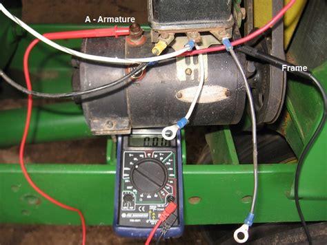 6v Generator/ammeter Question