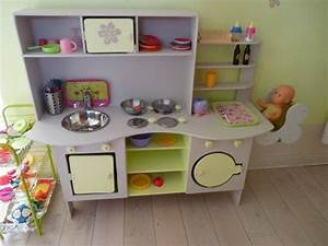 play kitchen love the high chair for baby dolls chloe With fabriquer une cuisine enfant