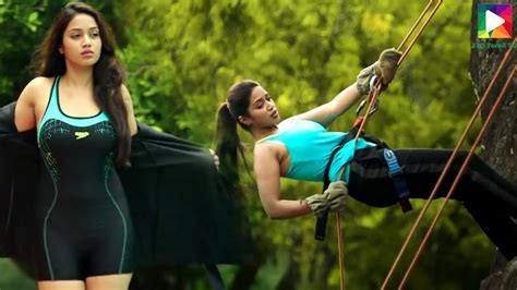 nivetha pethuraj latest song tik tik tik movie scene nivethapethuraj gorgeous shoot youtube