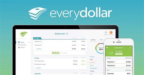 Everydollar  Dave Ramsey Budget Tool Daveramseycom